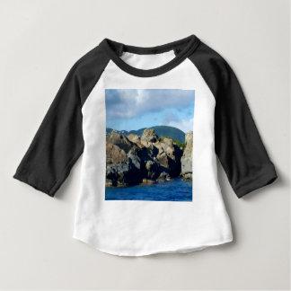 Caribbean Rocky Barrier St. Thomas Landscape Baby T-Shirt