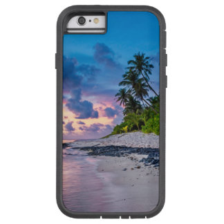 Caribbean Sandy Beach and Coastal Palms Tough Xtreme iPhone 6 Case