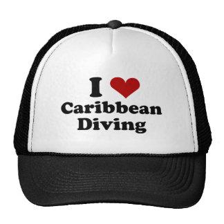 Caribbean Scuba Diving Trucker Hats