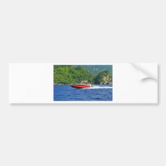 Caribbean sea bumper sticker