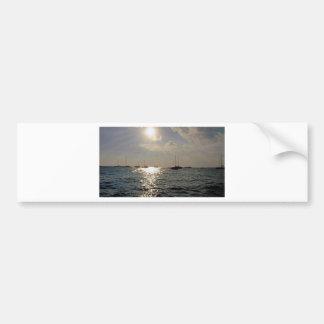 caribbean sea bumper stickers