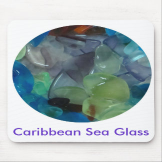 Caribbean Sea Glass Mousepad