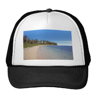 caribbean sea trucker hat