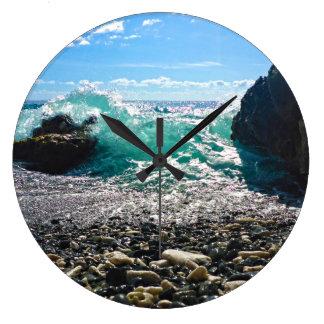 Caribbean Splash Clock