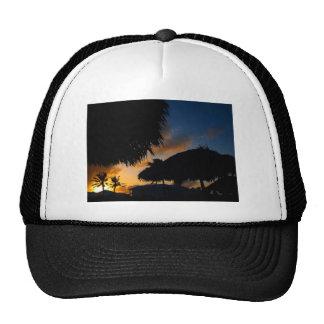 Caribbean Sunset 2 Hats