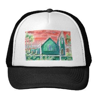 Caribbean Sunset ENHANCED Trucker Hat