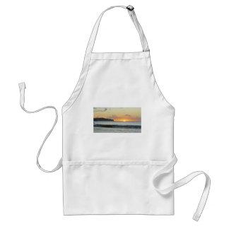 Caribbean sunset standard apron