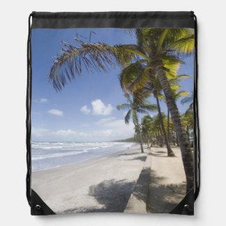 Caribbean - Trinidad - Manzanilla Beach on Drawstring Bags