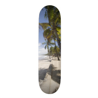 Caribbean - Trinidad - Manzanilla Beach on Custom Skateboard