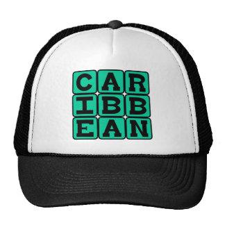 Caribbean Tropical Islands Trucker Hat