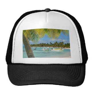 Caribbean Tropical paradise Hat