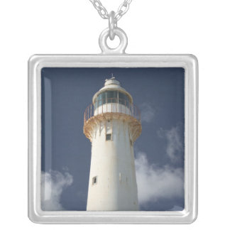 Caribbean, TURKS & CAICOS, Grand Turk Island, 2 Silver Plated Necklace