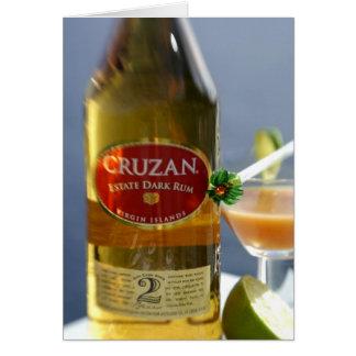 Caribbean, Virgin Islands. Cruzan Estate Dark Card