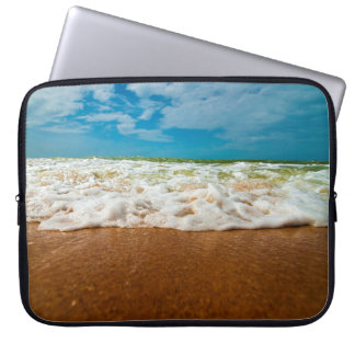 Caribbean Waves Laptop Sleeve