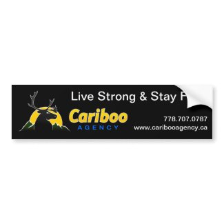 Cariboo Agency Sticker