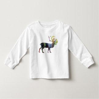 Caribou art toddler t-shirt