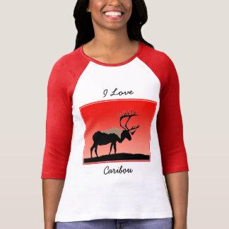 Caribou at Sunset  - Original Wildlife Art T-Shirt