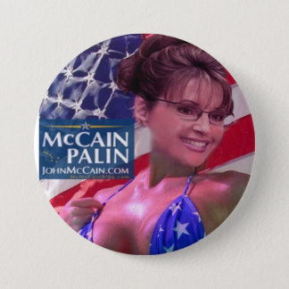 Caribou Barbi - Sarah Palin 3 Inch Round Button