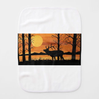 Caribou Burp Cloth