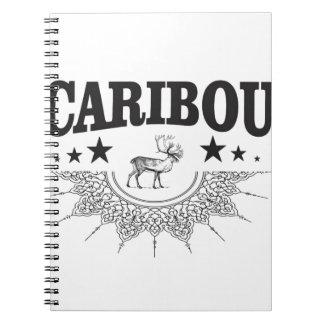 caribou cup logo notebook