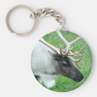 Caribou Keychain