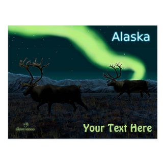 Caribou - Long March Postcard