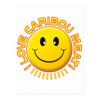 Caribou Meat Smile Post Card
