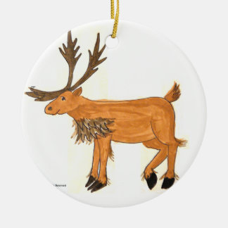 Caribou Ornament