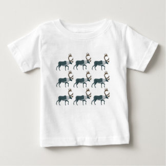 Caribou rows baby T-Shirt