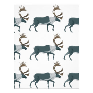 Caribou rows letterhead