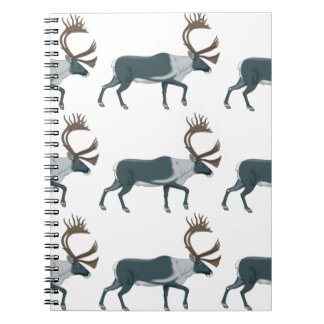 Caribou rows notebook