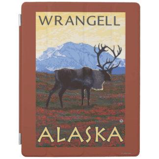 Caribou Scene - Wrangell, Alaska iPad Cover