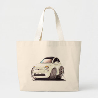 Caricature Fiat 500 way tuning! Large Tote Bag