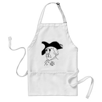 Caricature Frederick the Great Standard Apron