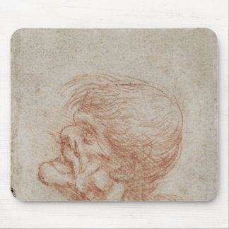Caricature Head Study of an Old Man, c.1500-05 Mouse Pad