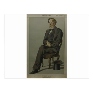 Caricature of Alexander Baillie Cochrane M.P. Postcard