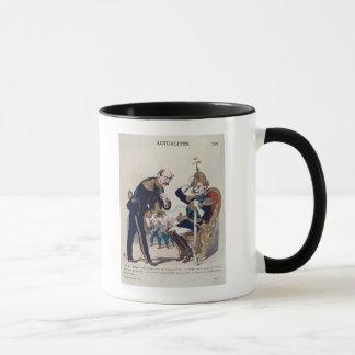 caricature of Kaiser Wilhelm  of Prussia Mug