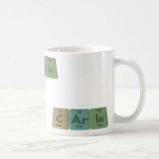Carin as Carbon Argon Indium Coffee Mug
