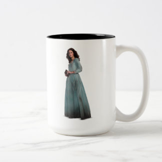 Carina - Head In The Stars Two-Tone Coffee Mug