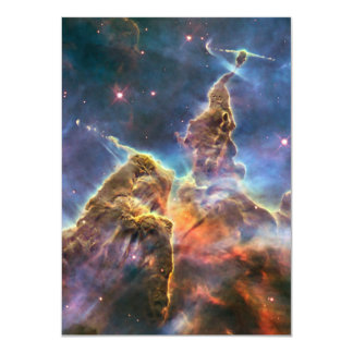 Carina Nebula by the Hubble Space Telescope Card