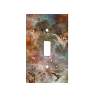 Carina Nebula Dark Clouds Light Switch Cover