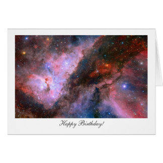 Carina Nebula - Happy Birthday Card