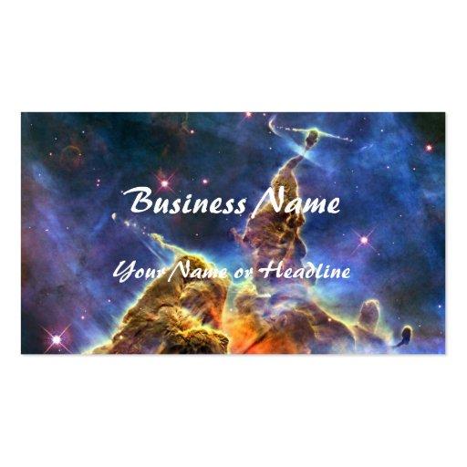 Carina Nebula (Hubble Telescope) Business Card Templates