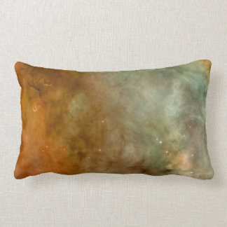 Carina Nebula Marble Look NASA Lumbar Pillow