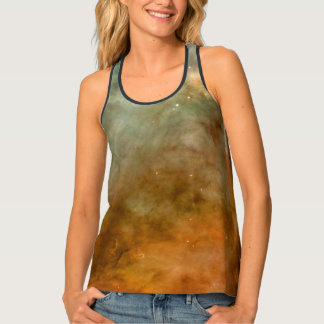 Carina Nebula Marble Look NASA Tank Top