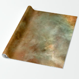 Carina Nebula Marble Look NASA Wrapping Paper