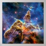 Carina Nebula Mystic Mountain Outer Space Photo Poster