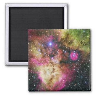 Carina Nebula - Our Breathtaking Universe Square Magnet