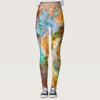 Carina Nebula outer space astronomy picture Leggings