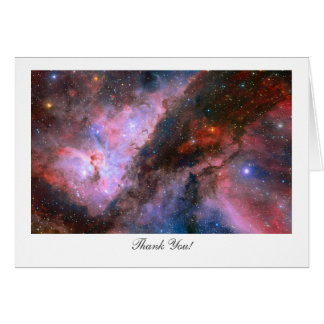 Carina Nebula - Saying Thank You Card